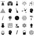 creativity icon set vector image