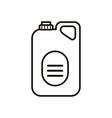 disinfectant plastic gallon bottle product line vector image vector image