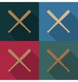 Icons baseball vector image vector image