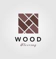 minimalist wood parquet flooring vinyl hardwood vector image vector image