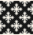seamless pattern with stars ornamental shapes vector image vector image