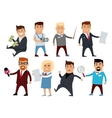 Set of Profession Specialists Characters vector image