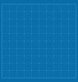 square blueprint background texture with grid vector image vector image