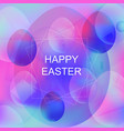 bright purple vibrant background for easter vector image vector image