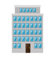 building cityscape isolated icon vector image