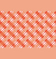 checkered seamless pattern vector image