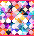 colored cloth seamless pattern vector image vector image