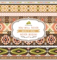 Seamless pattern in native american style vector image vector image