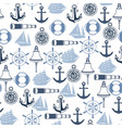 seamless pattern with symbols and items vector image vector image