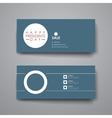 Set of modern design banner template in Presidents vector image vector image