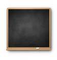 square chalkboard vector image vector image