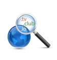 Domain search icon vector image vector image