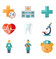 Medical care and health vector image vector image
