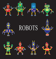 Robots the invader or friend vector image vector image