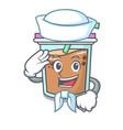 sailor bubble tea character cartoon vector image vector image