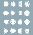snowflakes 3 vector image vector image