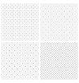 texture of blurred gray dots vector image vector image