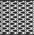 abstract monochrome hand drawn doodle pattern vector image vector image
