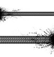 blots tire tracks vector image vector image