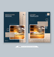brochure design a4 cover template for