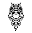 Decorative Owl Ethnic pattern