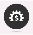 investments money - icon vector image