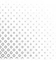 monochrome abstract square pattern background vector image vector image