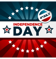 Patriotic Independence Day Banner vector image vector image