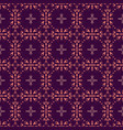 purple seamless pattern with ethic tribal elements vector image vector image