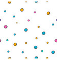baconfetti nursery seamless pattern vector image