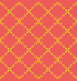 bright seamless pattern with yellow tribal vector image