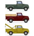 car pickup 04 vector image vector image