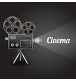 Cinema entertainment poster vector image