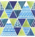 Far beyond mountains - seamless pattern
