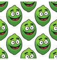 Green avocado fruit seamless pattern vector image vector image