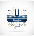 greeting banner for islamic holy holiday ramadan vector image vector image