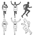 Marathon 3 vector image