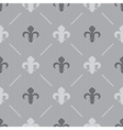 Seamless gray background vector image vector image