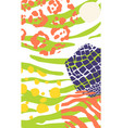 abstract pre made card vector image vector image