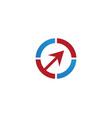 circle logo templates vector image vector image