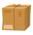 delivery box icon isolated vector image vector image