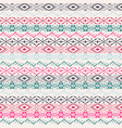 ethnic traditional seamless pattern in tribal vector image