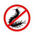 hand-drawn centipede cartoon insect icon vector image vector image