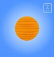 jupiter astrology planet vector image vector image