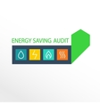 logo energy efficiency vector image