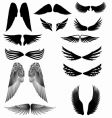 Wings silhouette vector | Price: 1 Credit (USD $1)