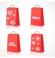 Christmas shopping bsg vector image
