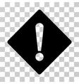 error rhombus icon vector image