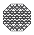 Mandala Decorative elements vector image