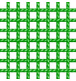 Net of rope in green design
